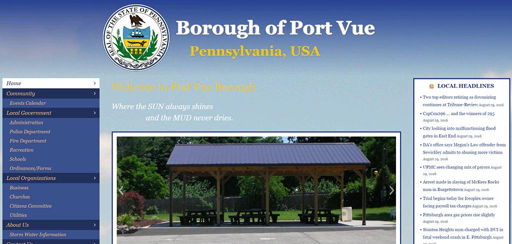 Port Vue Borough