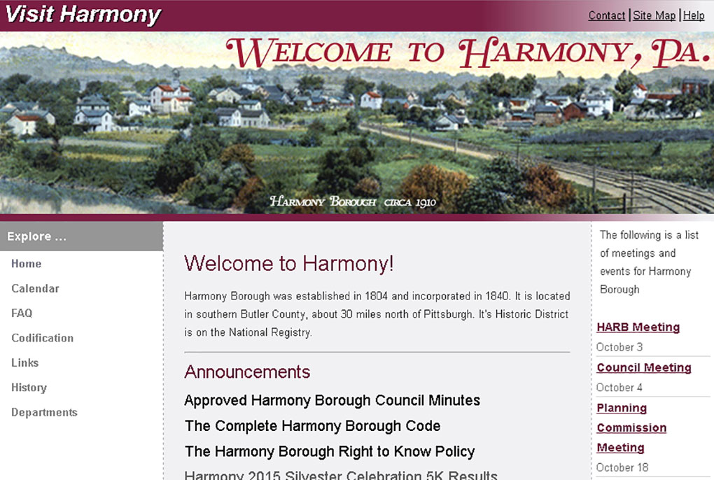 Harmony Borough