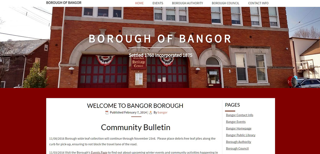 Bangor Borough