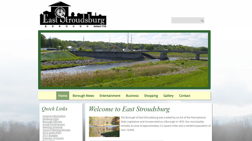 East Stroudsburg Borough