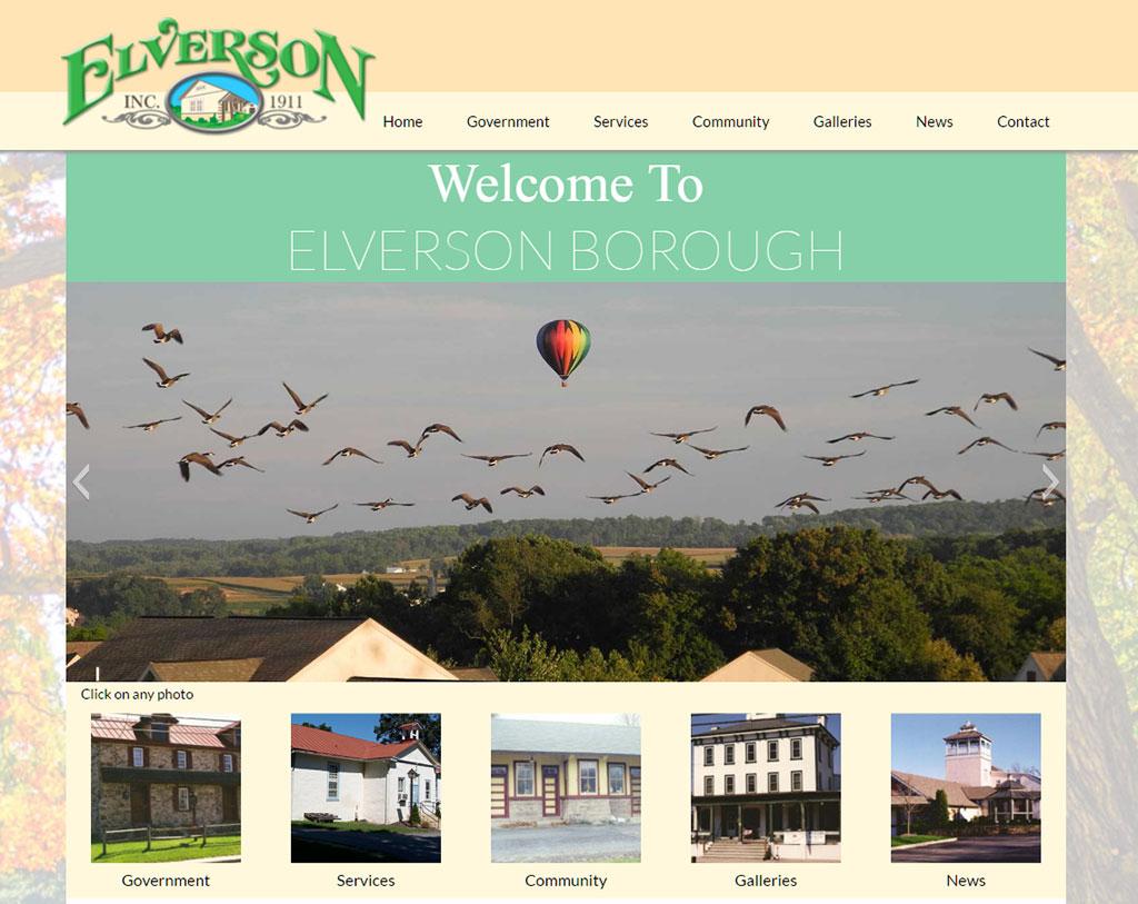 Elverson Borough