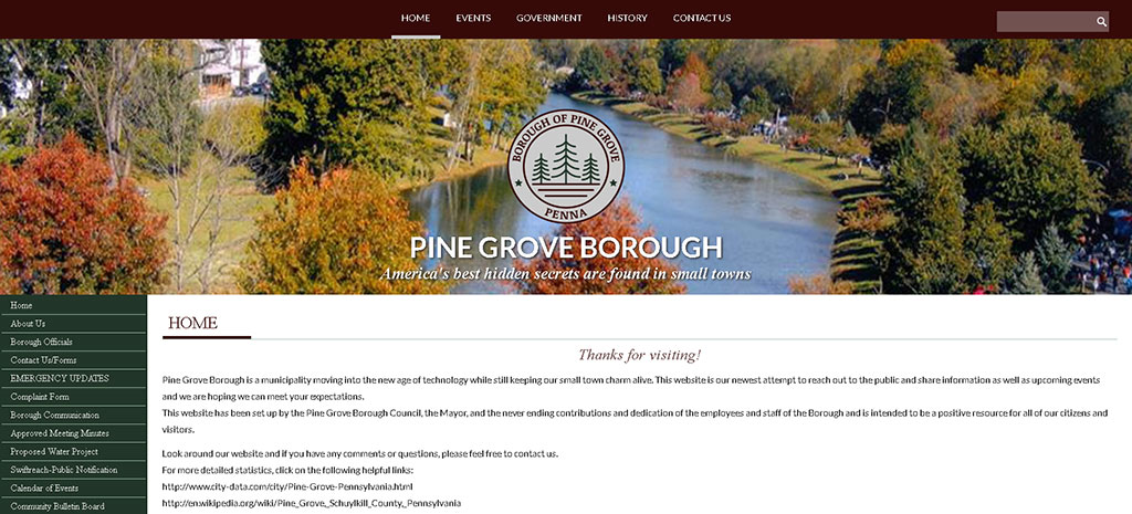 Pine Grove Borough