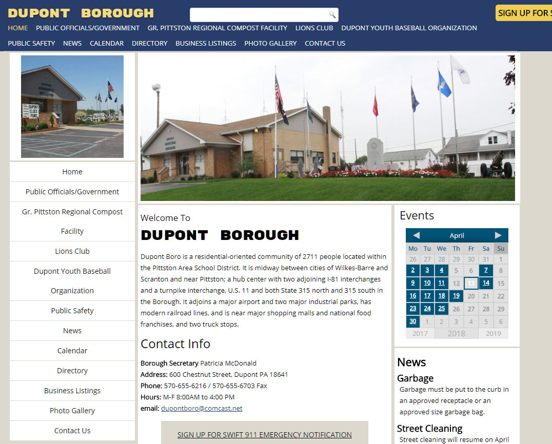 Dupont Borough