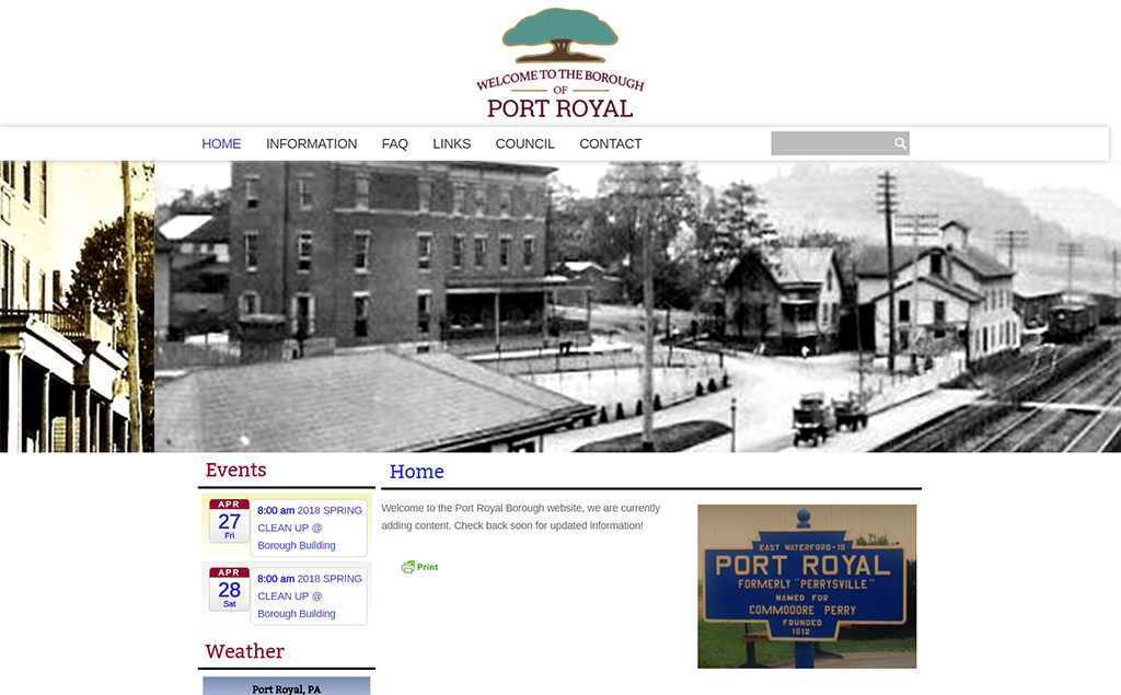 Port Royal Borough