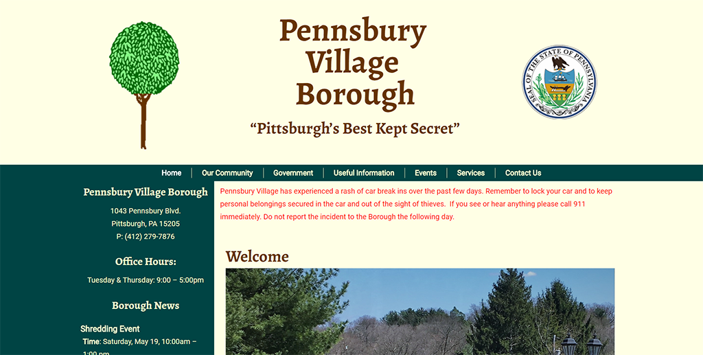 Pennsbury Village Borough
