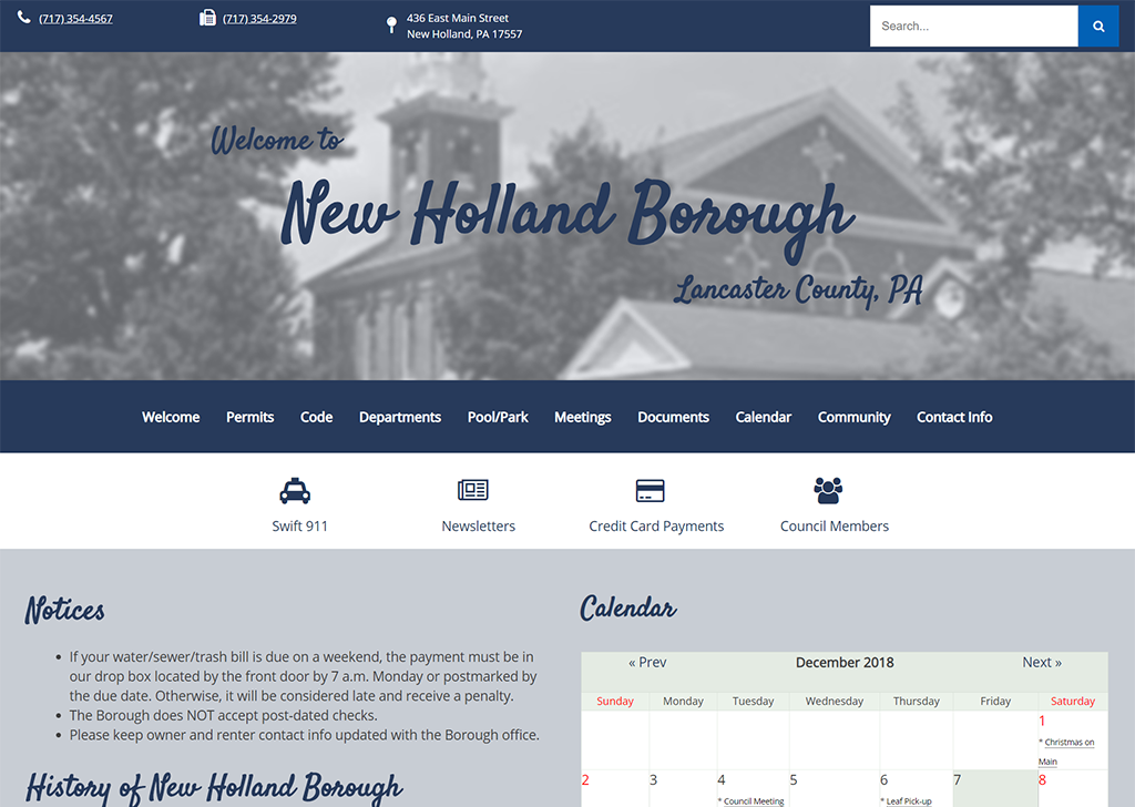 New Holland Borough