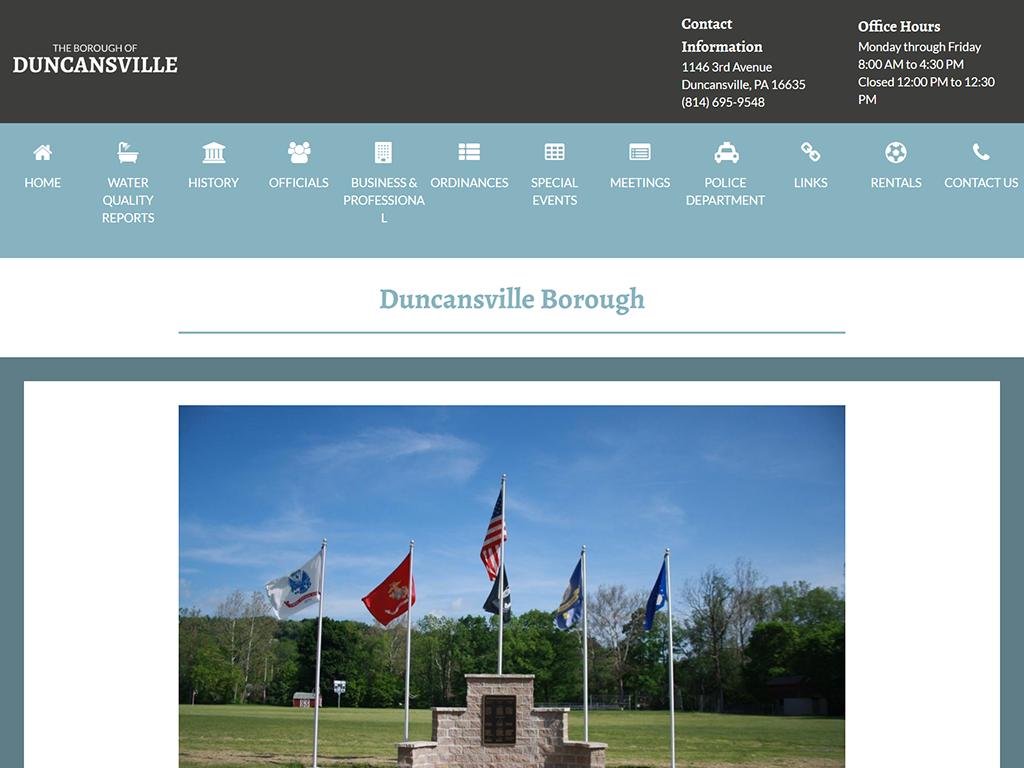 duncansvillepa_webdesign
