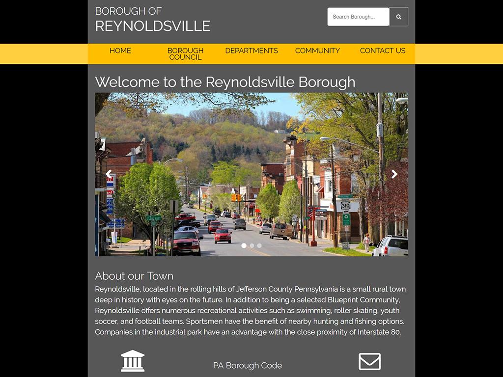 Reynoldsville Borough PA Website