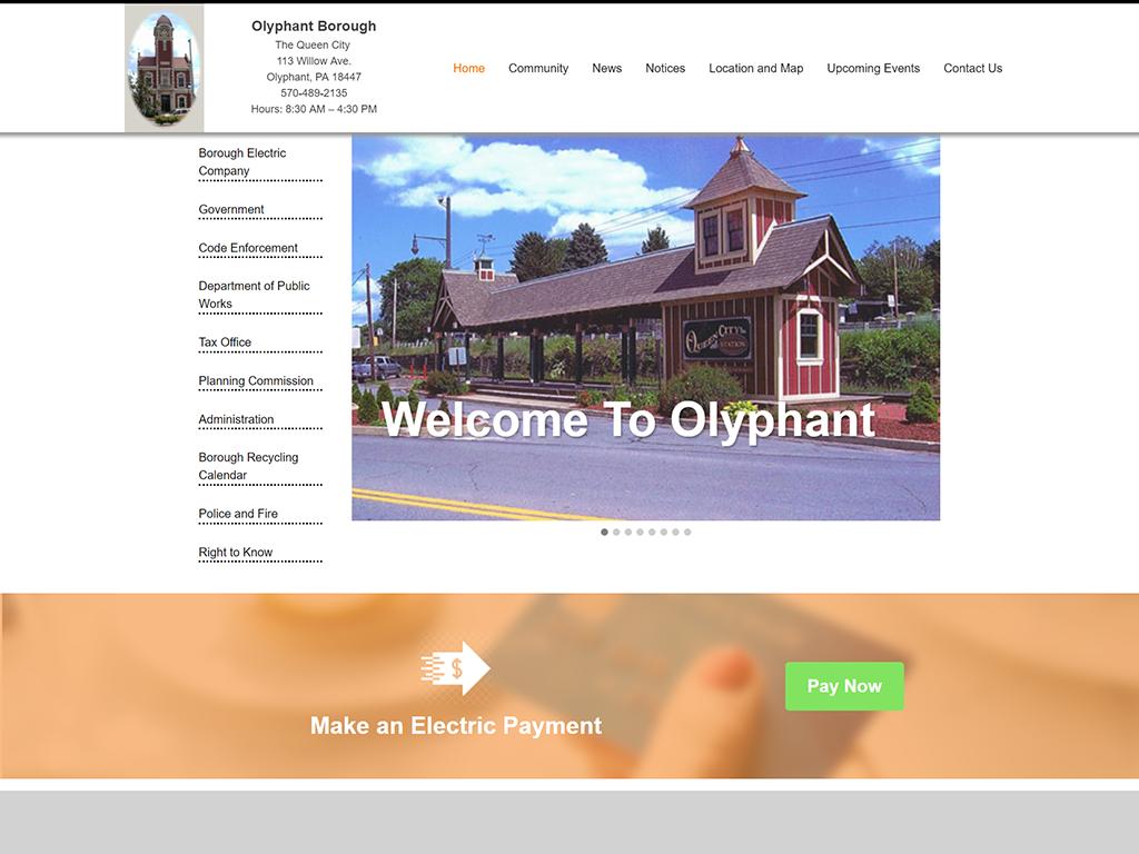 olyphantborough_website_redesign