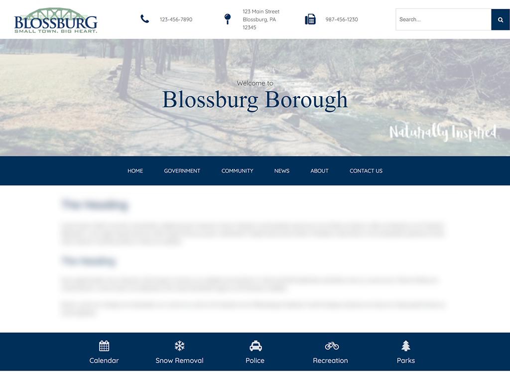 Blossburg Borough Website