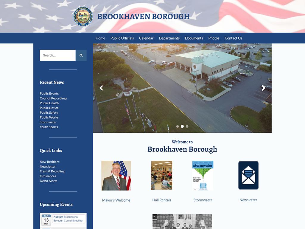 Brookhaven Borough Website